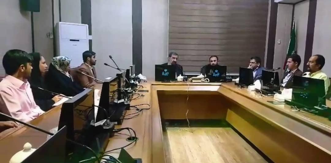 دیدار مسئول، کادراجرایی و کادر حرفه ای گروه ملی سلامت ایقان با سردار سرلشگر دکتر محسن رضایی